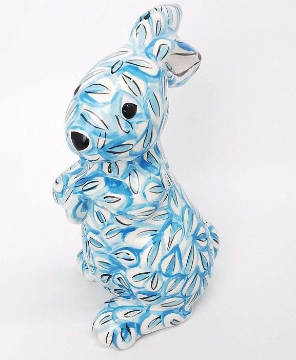 Decor Rabbit Blue Design