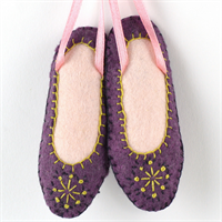 Dancing Shoe Felt Kit