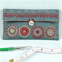 Sewing Pouch Embroidery Kit