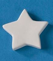 "BISQUIES SMALL STAR 1.5""w"