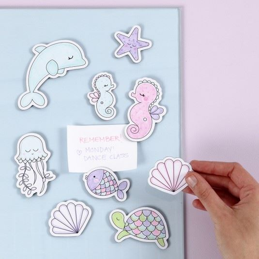 Under the Sea Magnetic Decoration Kit Inspiration