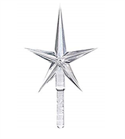 Clear Acrylic Star (Medium)