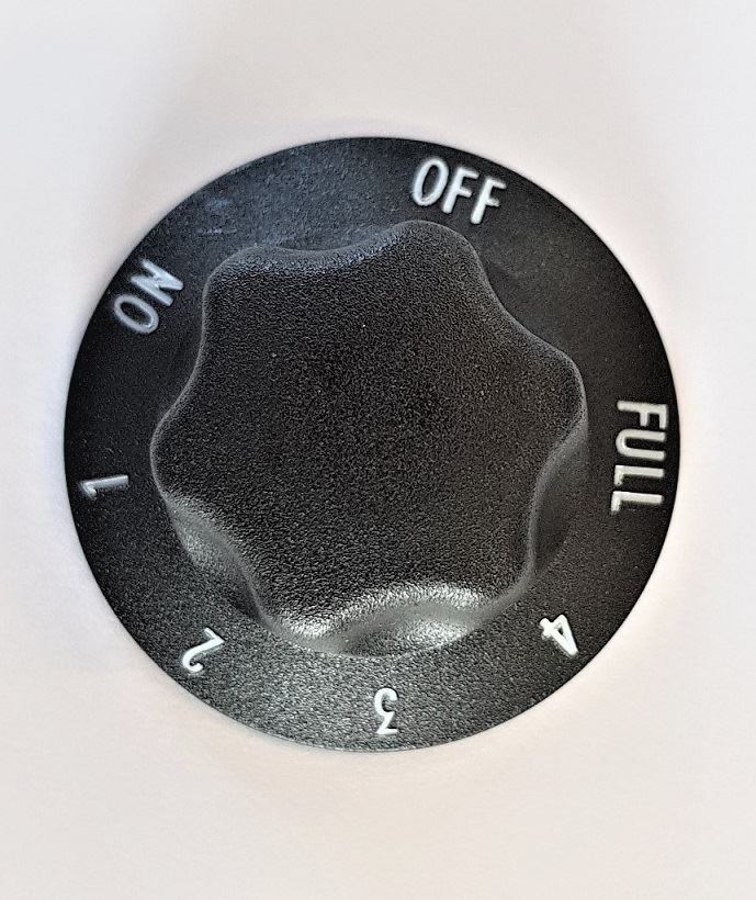 Energy Regulator Knob