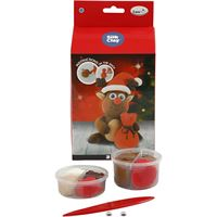 CH100612 Funny Friends Reindeer Silk Clay kit