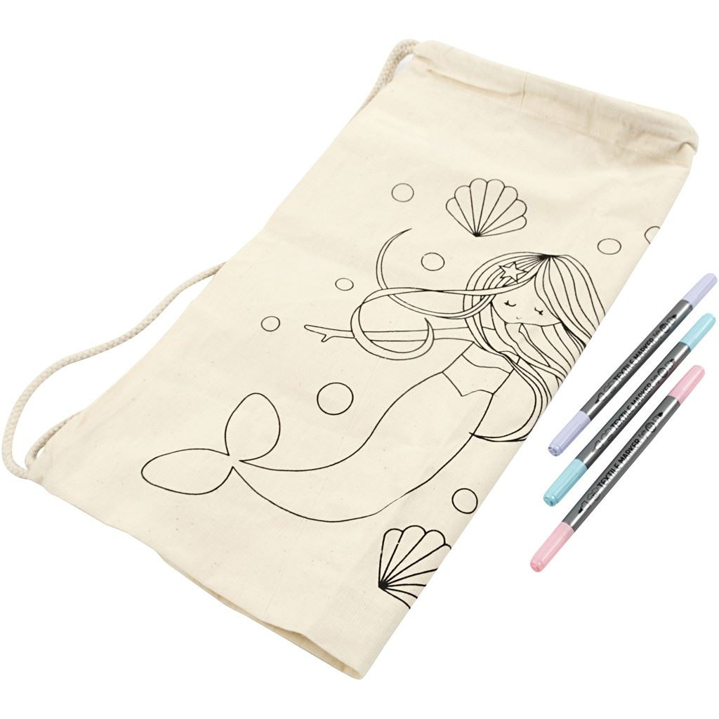 Mermaid Textile Decoration Kit