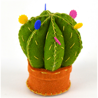 Cactus Pincushion Felt Craft Kit