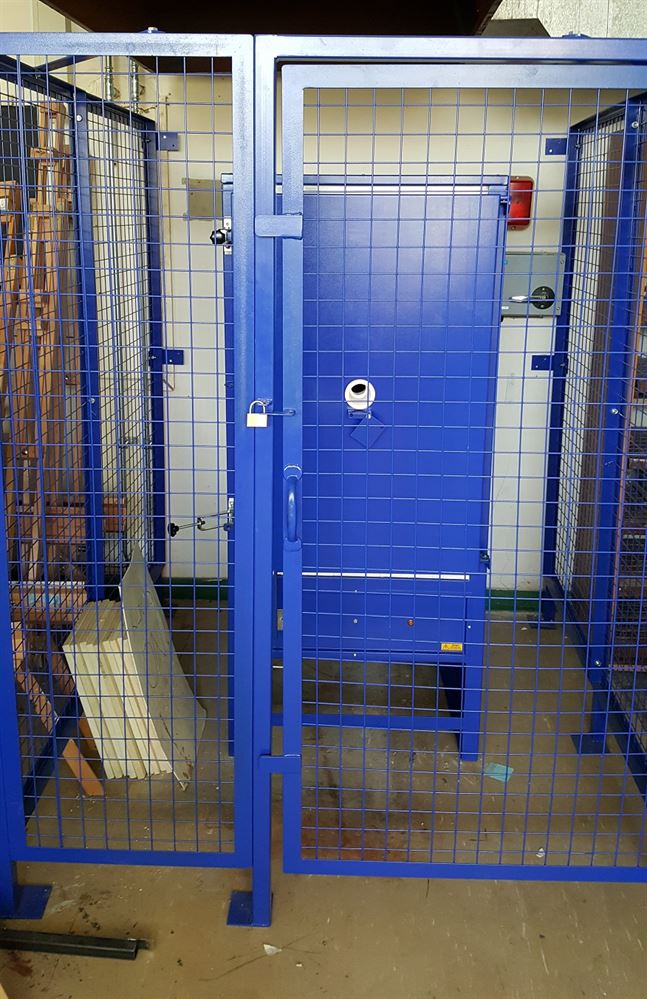 Kiln Cages Kiln Safety Cages For Ceramic And Electric