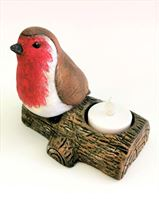 Robin Tealight Holder C-7018(left) (2)