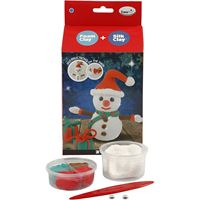 CH100613 Funny Friends Snowman Silk Clay Kit