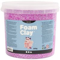 780840 Purple Glitter Fom Clay