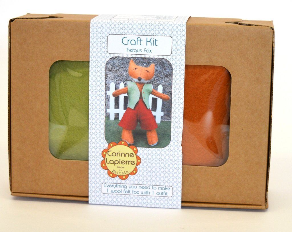 Fergus Fox Craft Kit Boxed