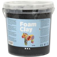 ch78820 Black Foam Clay