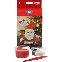 Funny Friends Santa Claus Silk Clay Kit