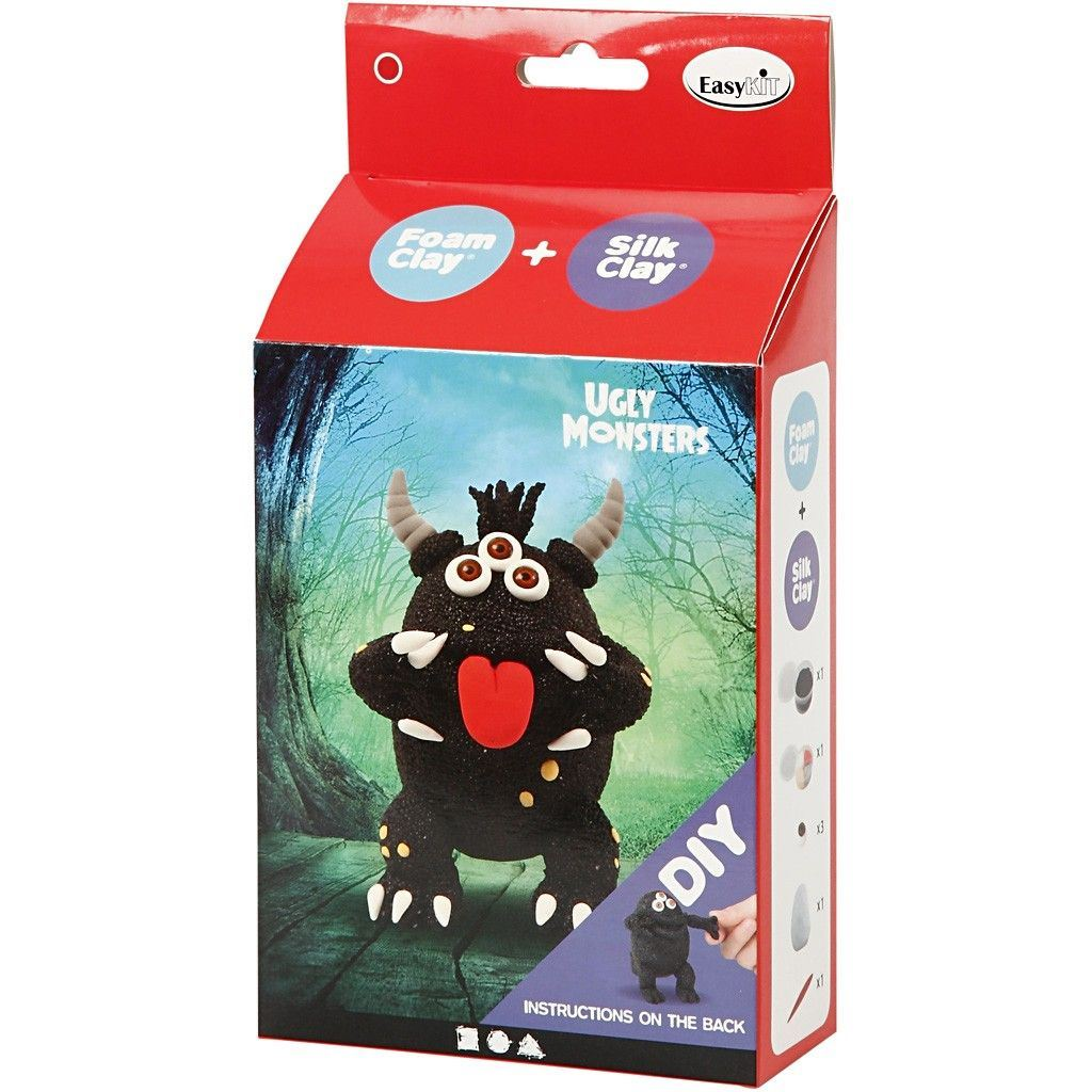 Ugly Monster Foam Clay Kit Black 100617 (2)