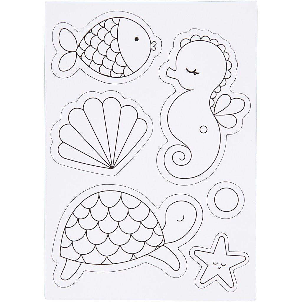 Under the Sea Magnetic Decoration Kit card