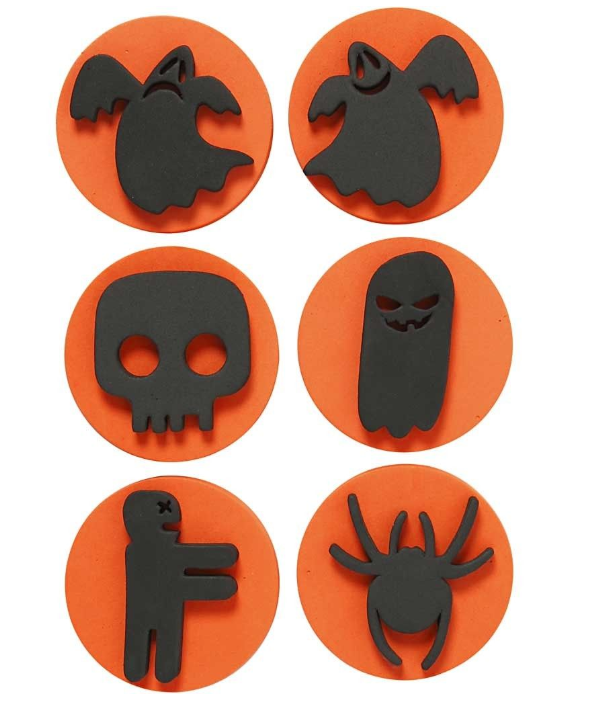 CH28553 Foam Stamps Halloween for Arts & Crafts