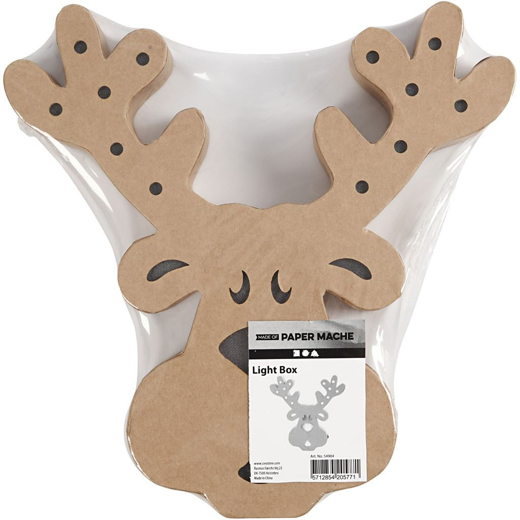 CH54904 Reindeer Head Figure in pack