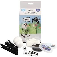 Sam the Sheep Foam & Silk Clay DIY Kit
