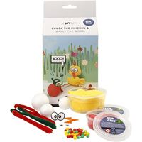 CH100603 Chuck the Chicken Silk Clay DIY Kit