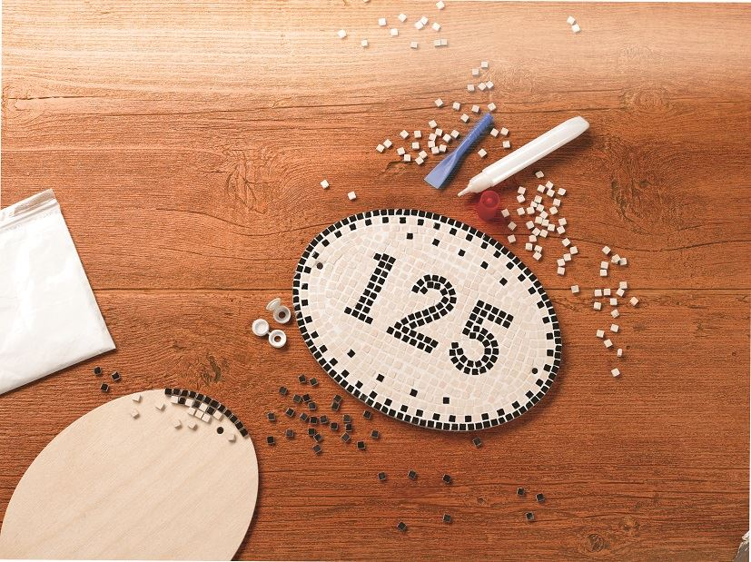 Mosaic House Numbers Kit
