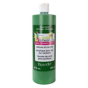 Green Oxide- Decoart Canvas Art Acrylics 473ml