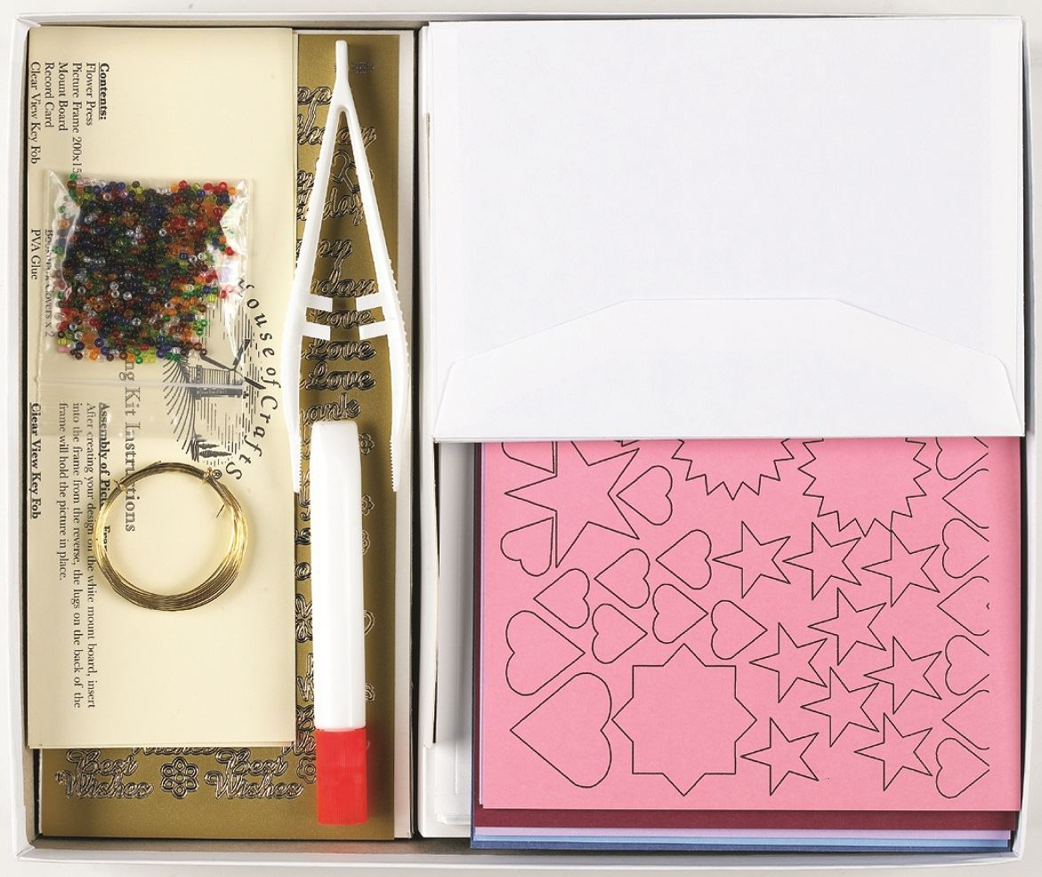 HC420 Creative Card Craft Kit contents 2