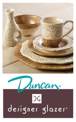 Duncan Designer Glazes for Pottery & Bisque