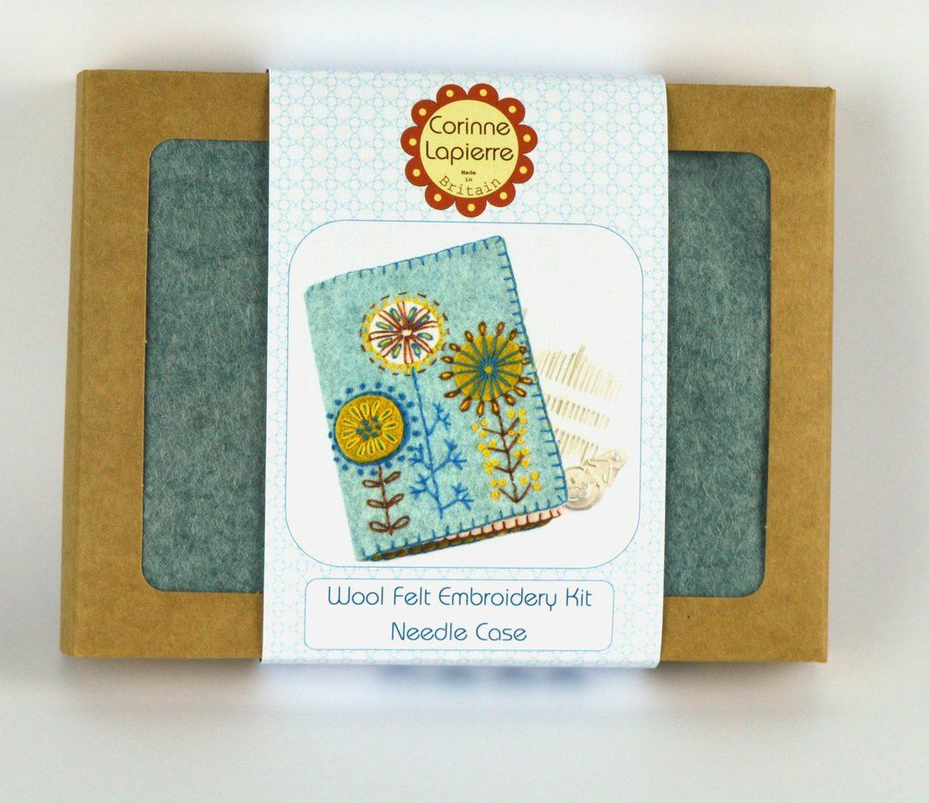Needle Case Embroidery Kit