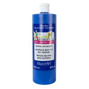 Cobalt Blue- Canvas Art Acrylic Paint 473ml