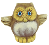 5213 Owl Tiny Topper