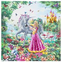 The Princess & The Unicorn Crystal Art Frame Kit