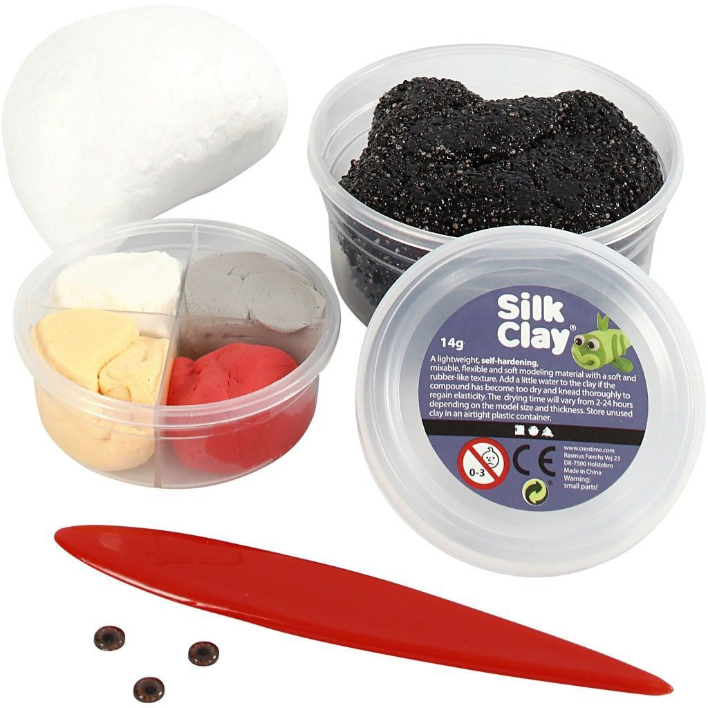 Ugly Monster Foam Clay Kit Black 100617 (3)