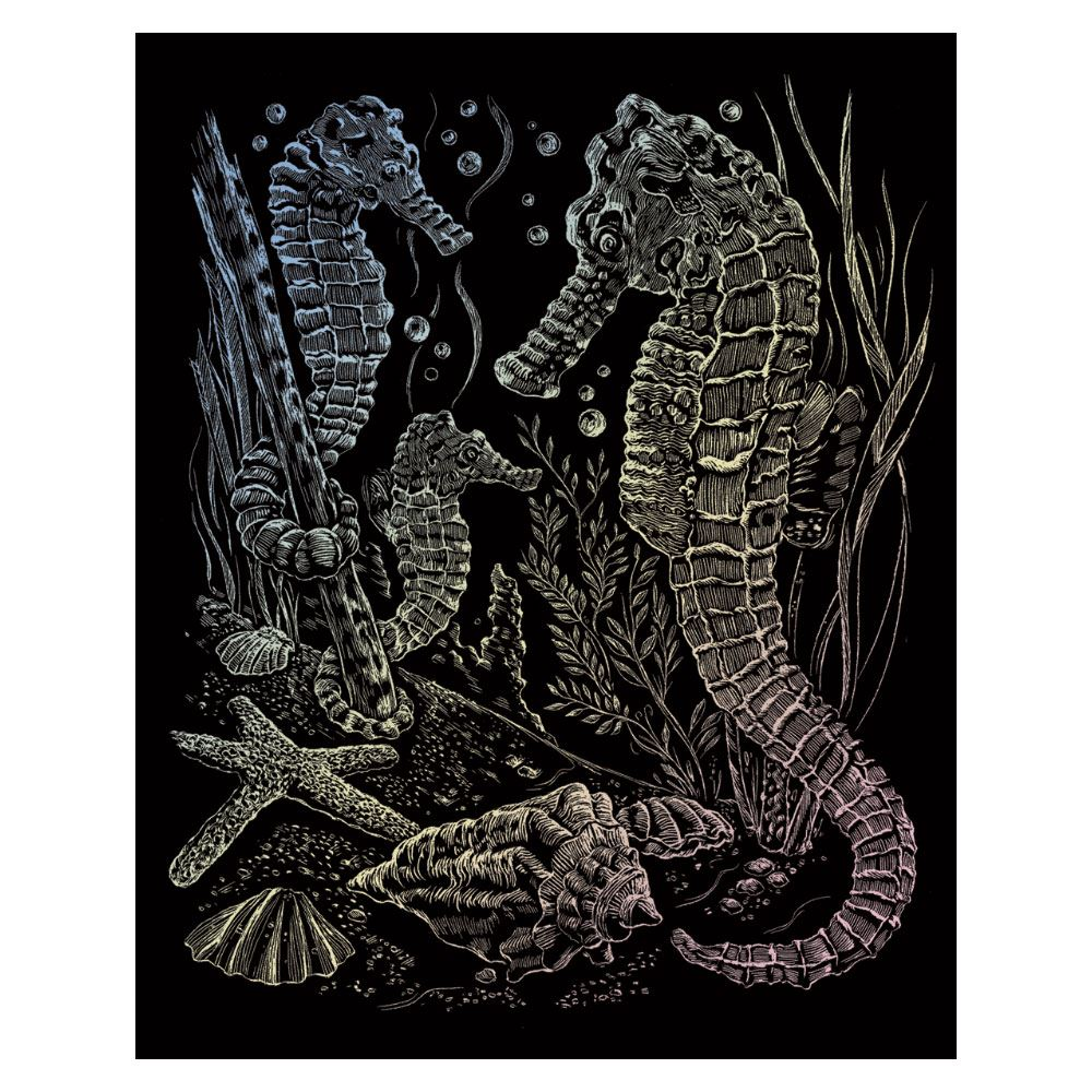 Sea Horses (Holographic Engraving Kit)